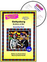 Gettysburg: Assembly Pack: Brothers at War - Educational Musicals S. (Spiral bound)