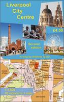 Liverpool City Centre Map - City Centre Maps (Sheet map, rolled)