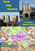 York City Centre: 18 Inches to 1 Mile (Sheet map, flat)