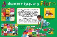Gemau'r Parot Piws/Purple Parrot Games: Chwarae a Dysgu ar y Fferm/Learning Fun with Your Toddler