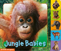 Jungle Babies - Animal Tabs (Board book)
