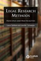 Legal Research Methods: Principles and Practicalities (Paperback)