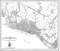 Helensburgh 1860 Map - Heritage Cartography Victorian Town Map Series No. 168 (Sheet map, folded)
