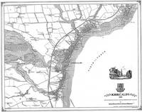 KIRKCALDY 1855 MAP - Heritage Cartography Victorian Town Map Series No. 171 (Sheet map, folded)