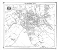 Banbury 1880 Heritage Cartography Victorian Town Map - Heritage Cartography Victorian Town Map Series 198 (Sheet map, folded)