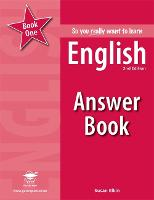 So you really want to learn English Book 1 Answer Book (Paperback)