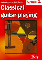 Grade 1 LCM Exams Classical Guitar Playing: Grade one (Paperback)