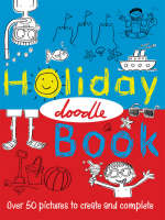 The Holiday Doodle Book (Paperback)