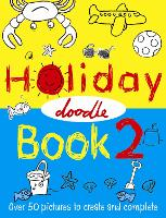The Holiday Doodle Book 2 (Paperback)