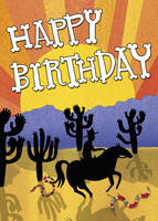 Happy Birthday - Wild West