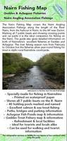Nairn Fishing Map: Map and Guide to Fishing on the River Nairn, Plus Geddes and Achagour Fisheries (Sheet map, folded)