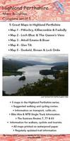Maps and Guides in Highland Perthshire: Biking (MTB) and Walking Routes - Highland Perthshire - Highland Perthshire Map (Sheet map, folded)