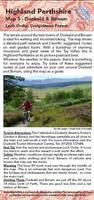 Dunkeld: Biking (MTB) and Walking Routes Around Dunkeld and Birnam - Highland Perthshire Map 5 (Sheet map, folded)