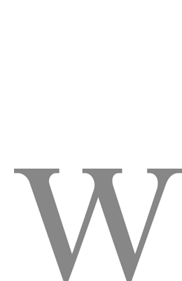 Development of Wild Indicators for Freshwater Wetlands and Waterways: Provisional Indicators (Spiral bound)