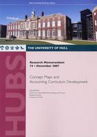 Research Memorandum 74 - Concept Maps and Accounting Curriculum Development - Research Memorandum 74 (Paperback)