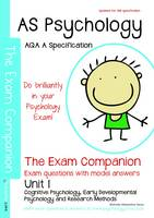 AS Psychology - The Exam Companion - Unit 1: Cognitive Psychology, Developmental Psychology, Research Methods: AQA a Specification (Paperback)