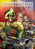 Strontium Dog: Blood Moon - Strontium Dog Graphic Novels (Paperback)