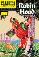 Robin Hood - Classics Illustrated (Paperback)