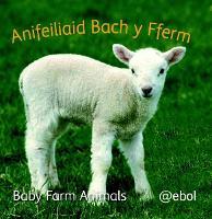 Fy Llyfr Lluniau Defnydd Meddal/My Photo Soft Cloth Book: 1. Anifeiliaid Bach y Fferm/Baby Farm Animals (Rag book)