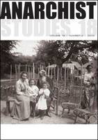 Anarchist Studies: 18.2 (Paperback)