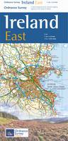 The Ireland Holiday Map - East - Irish Maps, Atlases and Guides (Sheet map, folded)