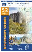 Clare, Galway, Offaly, Tipperary - Irish Discovery Series 53 (Sheet map, folded)