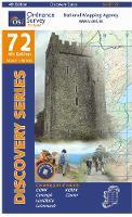 Kerry, Cork, Limerick - Irish Discovery Series 72 (Sheet map, folded)