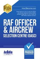Royal Air Force Officer Aircrew and Selection Centre Workbook (OASC) - Officer 1 (Paperback)