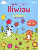Llyfr Sticeri Lliwiau/Colours Sticker Book (Paperback)