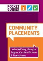 Community Placements