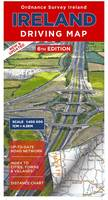 Ireland Driving Map - Irish Maps, Atlases and Guides (Sheet map, folded)