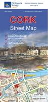 Cork Street Map - Irish Street Maps (Sheet map, folded)