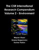 The CSR International Research Compendium: Volume 2 - Environment (Paperback)