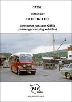 Chassis List - Bedford OB (and Other Post-war K/M/O Passenger Carrying Vehicles)