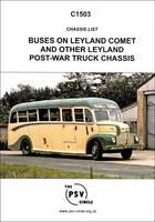Chassis List of Buses on Leyland Comet and Other Leyland Post-War Truck Chassis: C1503 (Paperback)