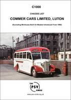 Chassis List - Commer Cars Limited