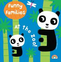 Funny Families - At the Zoo - Funny Families (Hardback)
