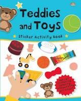 Sticker Activity Book - Teddies and Toys - Sticker Activity Book (Paperback)