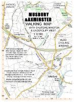 Musbury & Axminster Walking Map: with Shute Kilmington & Undercliff West - walking map 44 (Sheet map, folded)