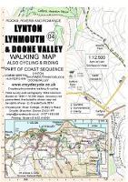 Lynton Lynmouth & Doone Valley Walking Map - walking map 04 (Sheet map, folded)