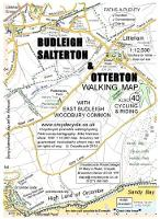 Budleigh Salterton & Otterton Walking Map: With East Budleigh & Woodbury Common - walking map 40 (Sheet map, folded)