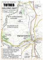 Totnes Walking Map: With Surrounding Villages - walking map 28 (Sheet map, folded)
