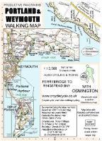 Portland & Weymouth Walking Map: Ferrybridge to Ringstead Bay - walking map 49 (Sheet map, folded)