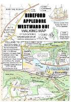Bideford Appledore Westward Ho! Walking Map: Yelland to Bucks Mills - walking map 10 (Sheet map, folded)