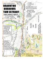 Braunton Burrows Taw Estuary Walking Map: Saunton to Yelland - walking map 09 (Sheet map, folded)