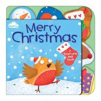 Merry Christmas - Touch-and-feel Tabbed Board Book 4 (Board book)