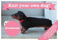 Best in Show: Dachshund Kit: Knit Your Own Dog - Best in Show
