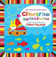 Chwarae gyda Lliwiau - Y Llyfr Cyffwrdd a Theimlo Cyntaf Un/Colour Play Book - Baby's Very First Touchy-Feely Book (Hardback)