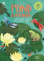Pond Explorer: Nature Sticker & Activity Book (Paperback)