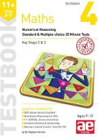 11+ Maths Year 5-7 Testbook 3: Numerical Reasoning Standard & Multiple-Choice 35 Minute Tests (Paperback)